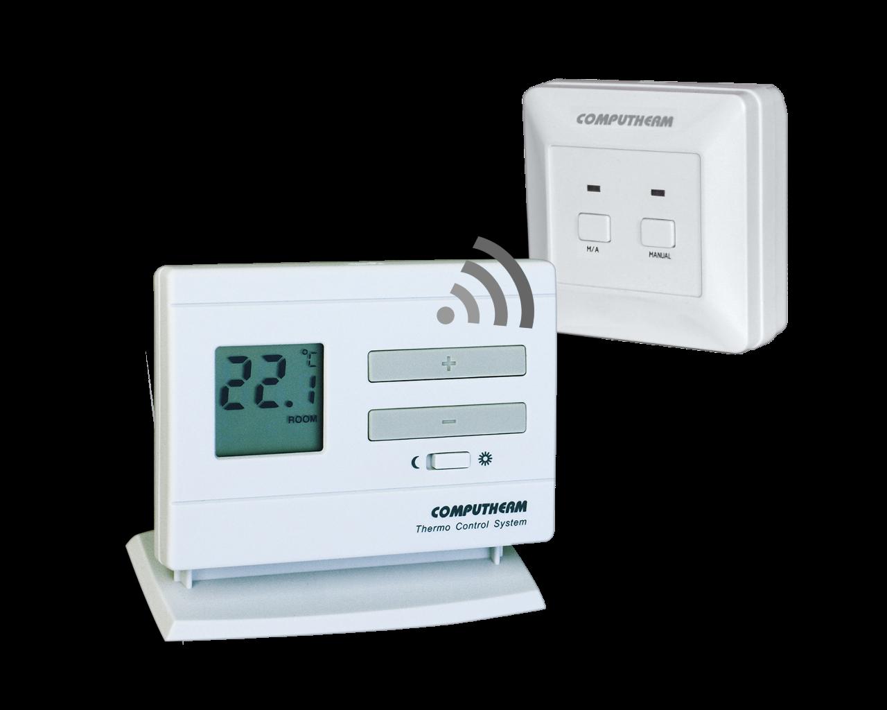 Q3RF - bežični sobni termostat (radio frekvencijski) + prijemna jedinica