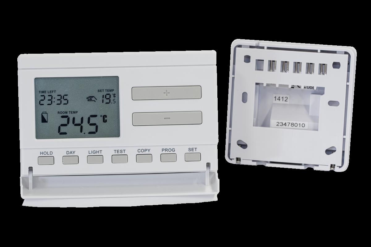 Q7RF - bežični, programabilni, digitalni sobni termostat
