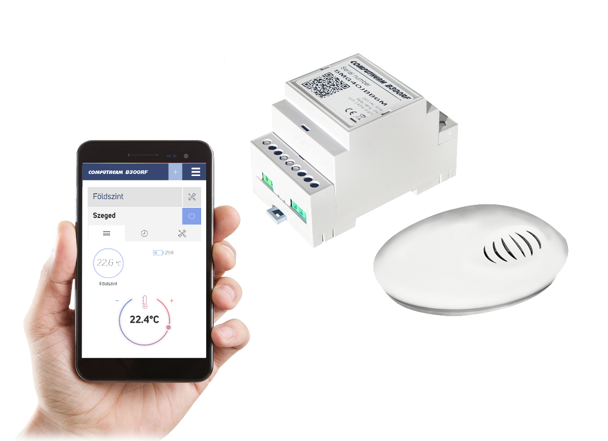 B300RF - Wifi termostat sa bežičnim senzorom