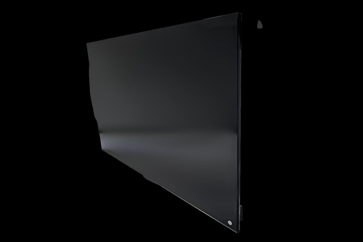 Infracrveni panel - kaljeno staklo -600W - Crni
