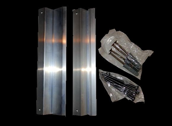 Montažni set za strop - infra paneli serije VCIR