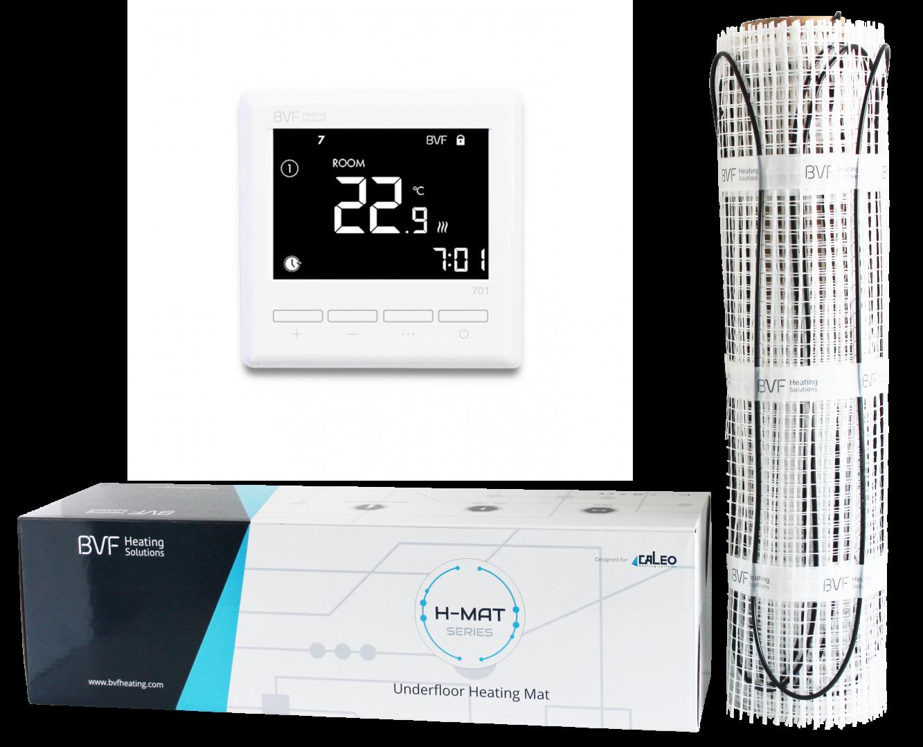 Set - grijaća mrežica od 100W/m2 + sobni programabilni termostat