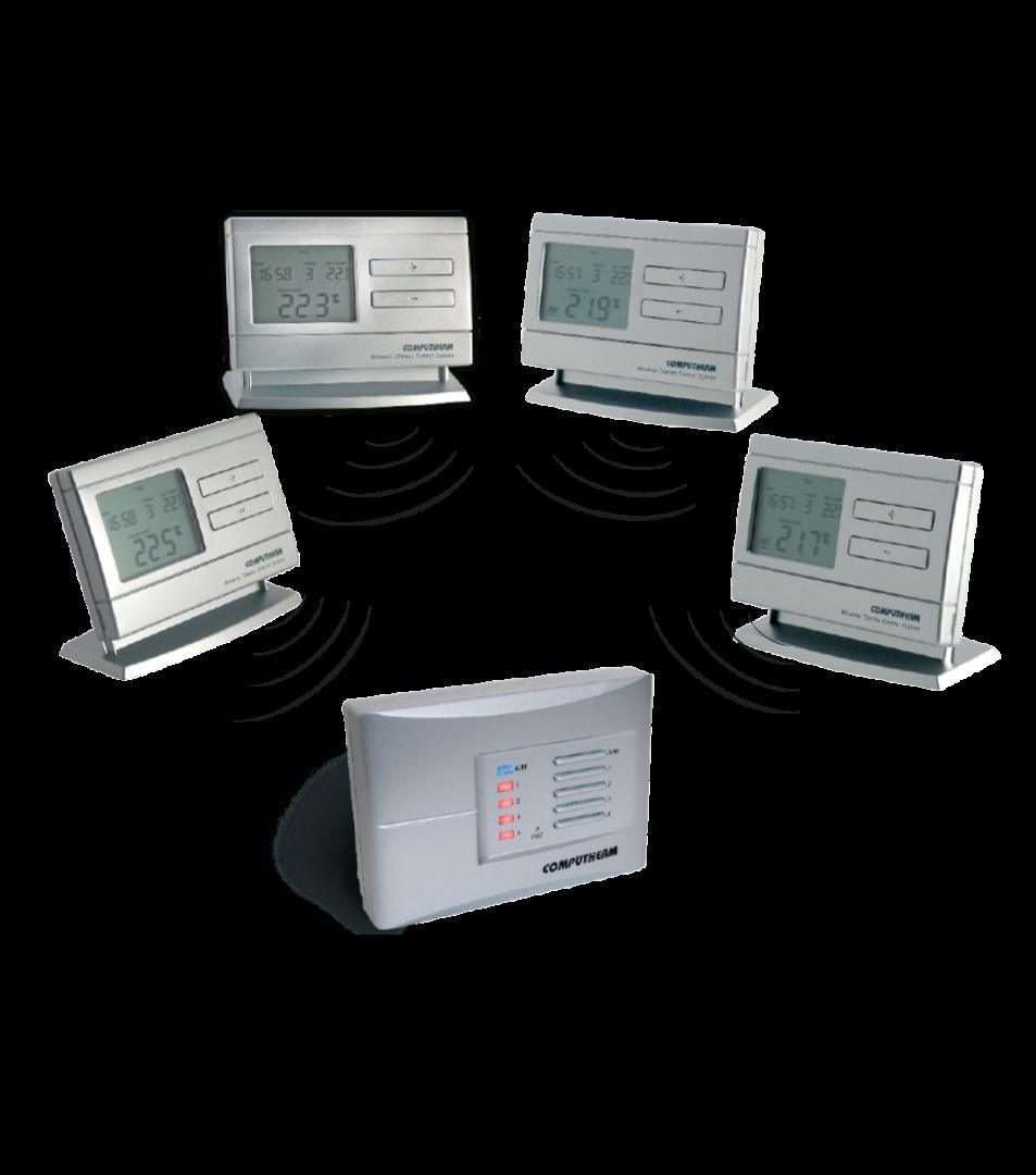 Q8RF višezonska prijemna jedinica sa bežičnim termostatima