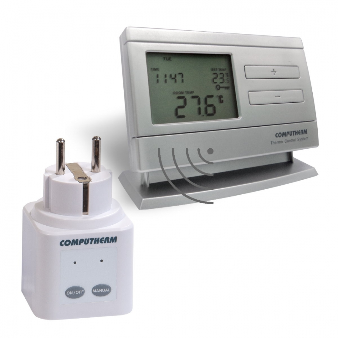 Q1RX bežični utikač-prijemnik s termostatom Q8RF