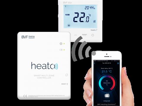 BVF Heato Box - Wi-Fi zonski kontroler za Heato9 sobne termostate