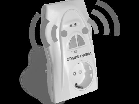 Q2RF utikač-pojačivač radio frekvencijskog termostata