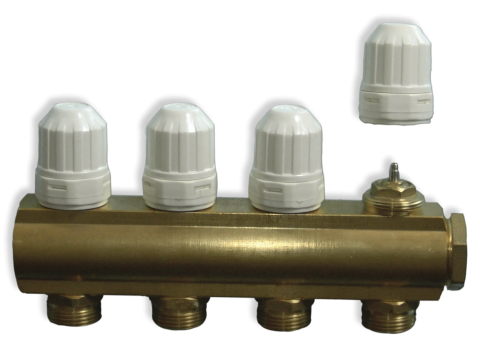 "Computherm MF01 - sabirnik s integriranim ventilima1""-ni 4 kruga M30 x 1,5mm"