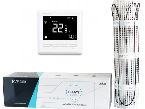 Grijaća mrežica 12m2 - 1200W + digitalno programabilni sobni termostat