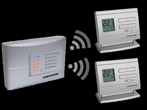 Computherm Q5RF - multi-zonski prijemnik sa 2 bežična termostata