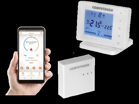 Wifi termostat E400RF sa bežičnim prijemnikom