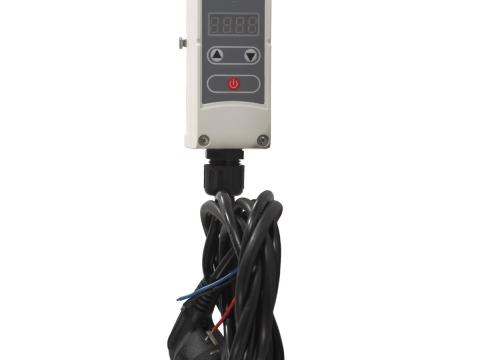 Computherm WPR-100GD nalijegajući cijevni termostat/regulator pumpe s kontaktnim senzorom