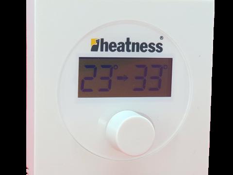 Bežični termostat TH07 sa prijemnom jedinicom za VCIR infrapanele + Bluetooth® upravljanje