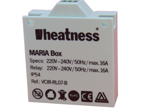 Dodatna prijemna jedinica za bežični termostat VCIR-TH07 za infrapanele
